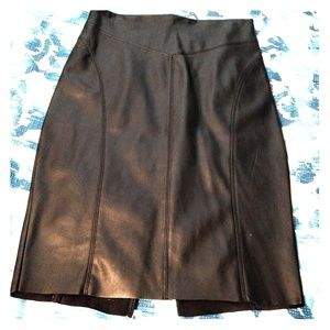Express Minus-the-Leather pencil skirt